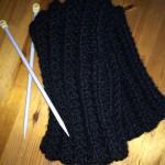 Hübscher Schal für Strickanfänger