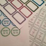 Freebies: Etiketten und Verpackungen zum ausdrucken