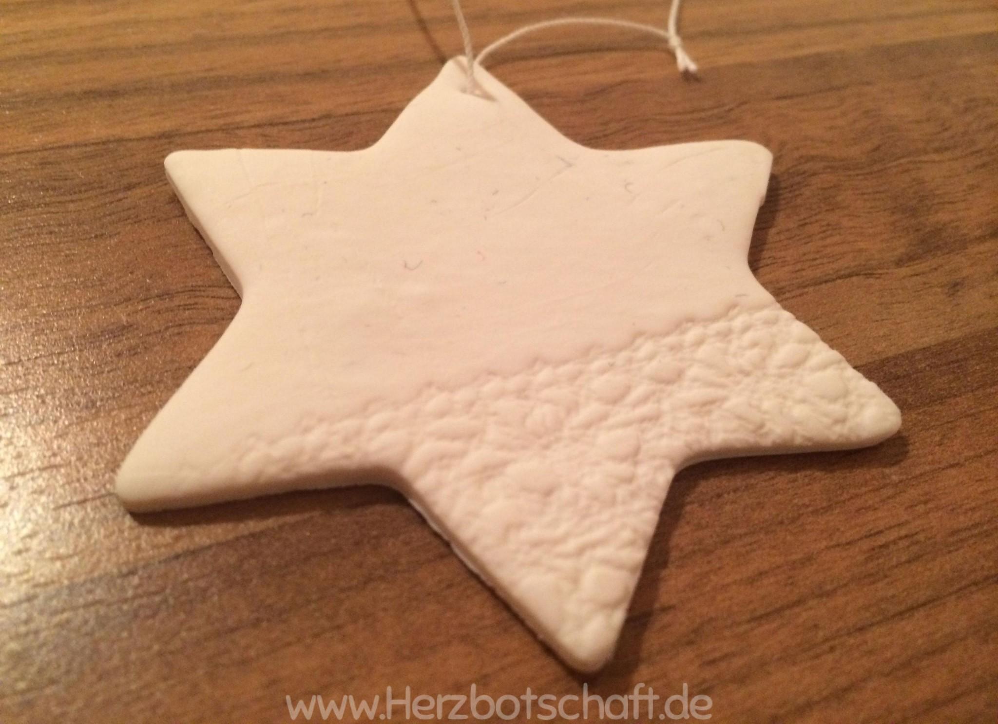 Bastelanleitung: Schicke Fimo Sterne Als Weihnachtsdeko   ♡  Herzbotschaft.de ♥