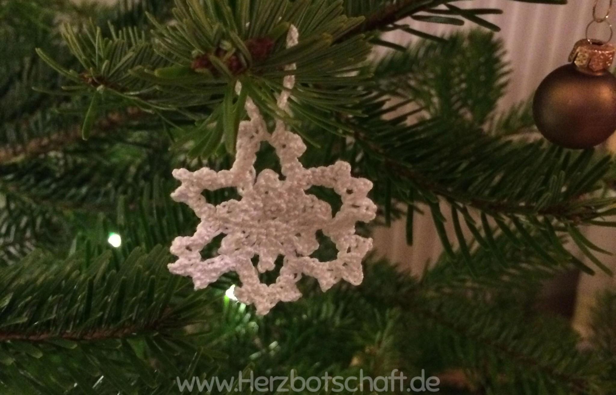 Anleitung Gehakelte Schneeflocken Fur Den Weihnachtsbaum