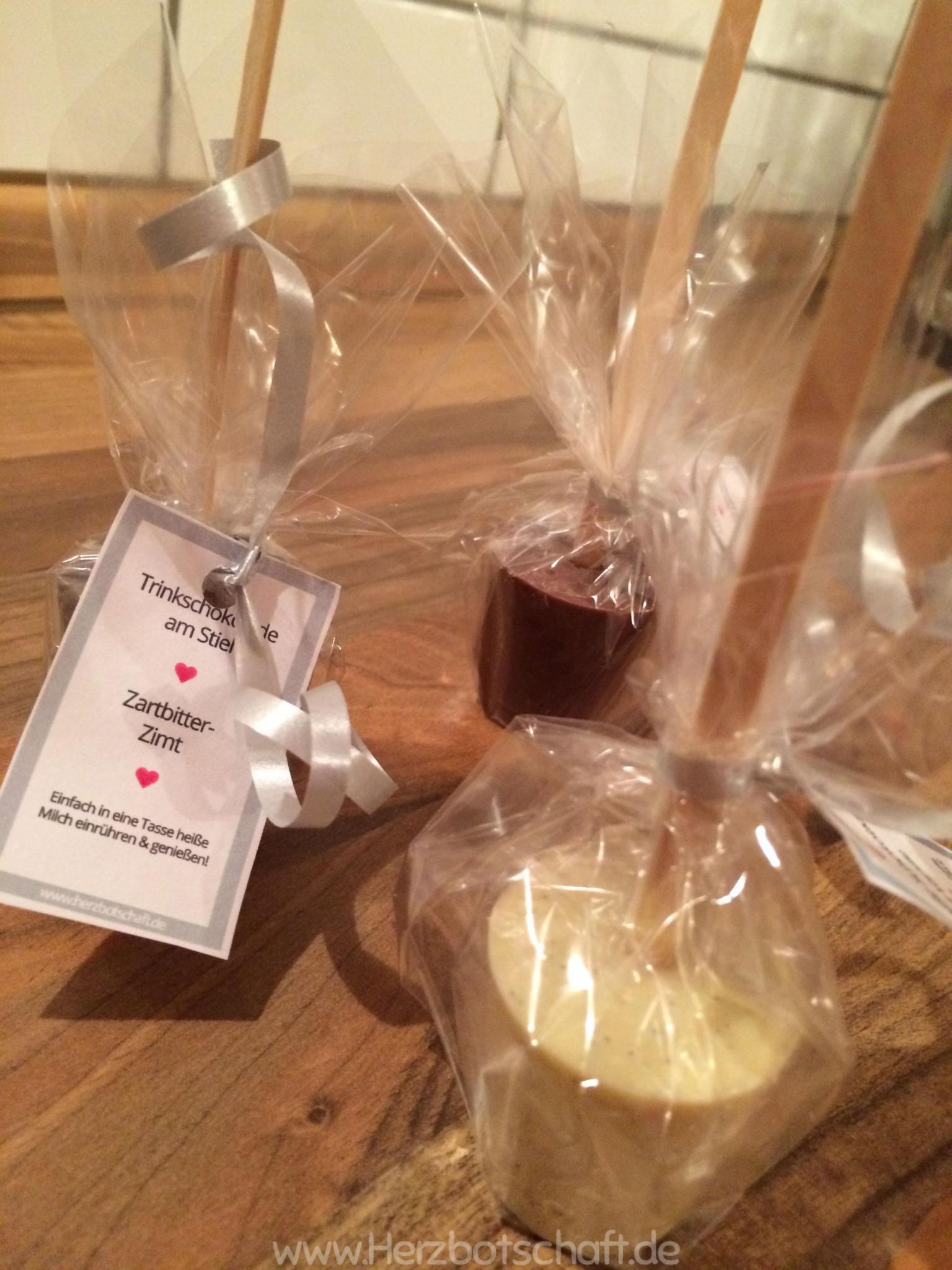 Rezept Und Anleitung Schokolade Am Stiel Als Geschenkidee