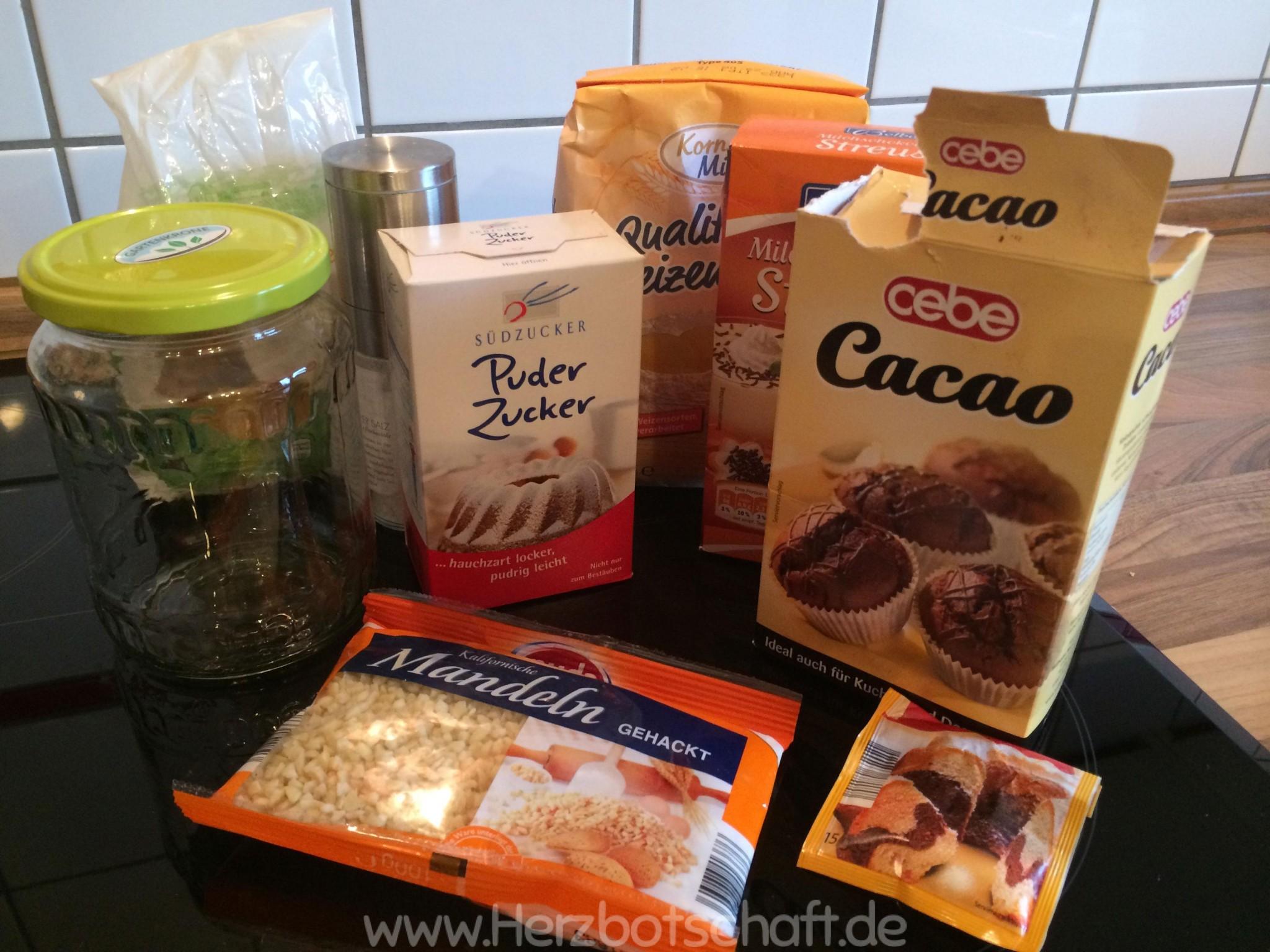 Backmischung Im Glas Fur Brownies Oder Cookies Rezept Und Anleitung
