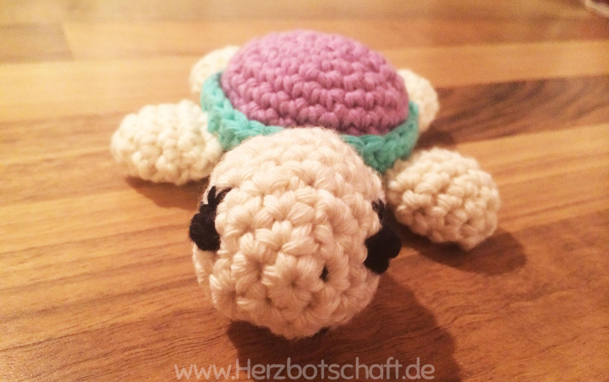 Häkelanleitung Süße Gehäkelte Amigurumi Schildkröte