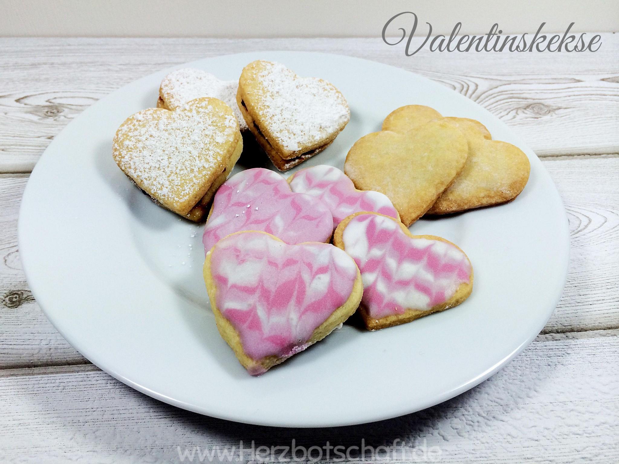 Rezept Herzkekse Und Platzchen In Herzform Zum Valentinstag Und