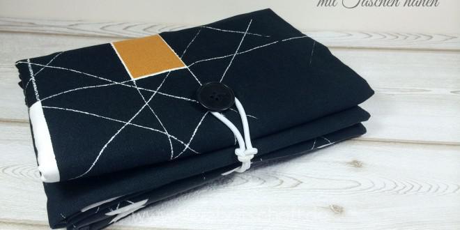 Wickelunterlage mit integrierten Taschen nähen