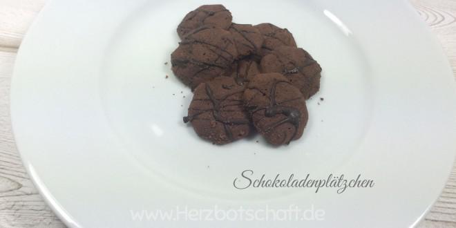 Schokoladenplätzchen backen