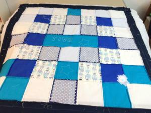 patchwork-decke-zusammennaehen
