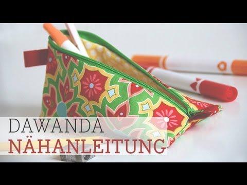 DaWanda Nähschule: Täschchen mit Reißverschluss