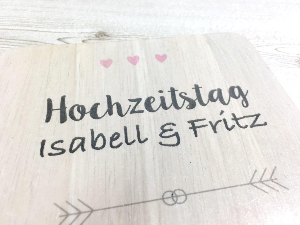 Bild auf Holz übertragen