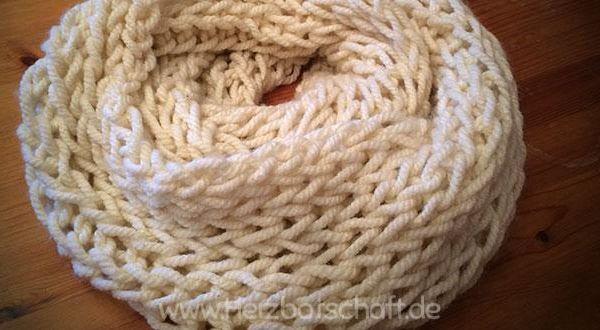 loopschal-stricken-anleitung
