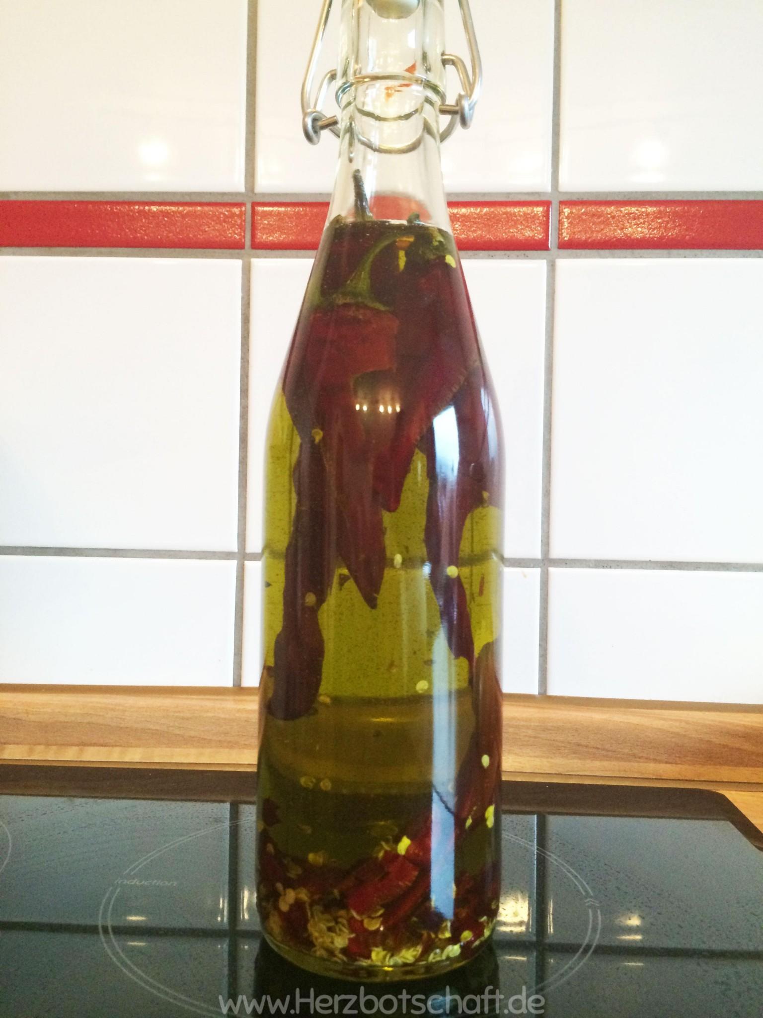 Scharfes Olivenöl