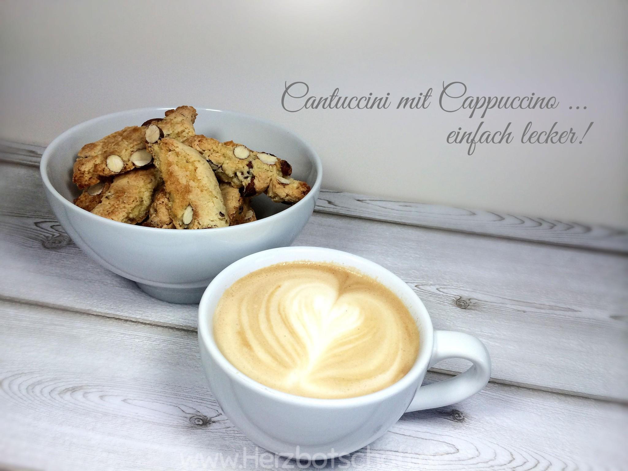 Cantuccini - die leckersten italienischen Kekse für die Kaffeetafel
