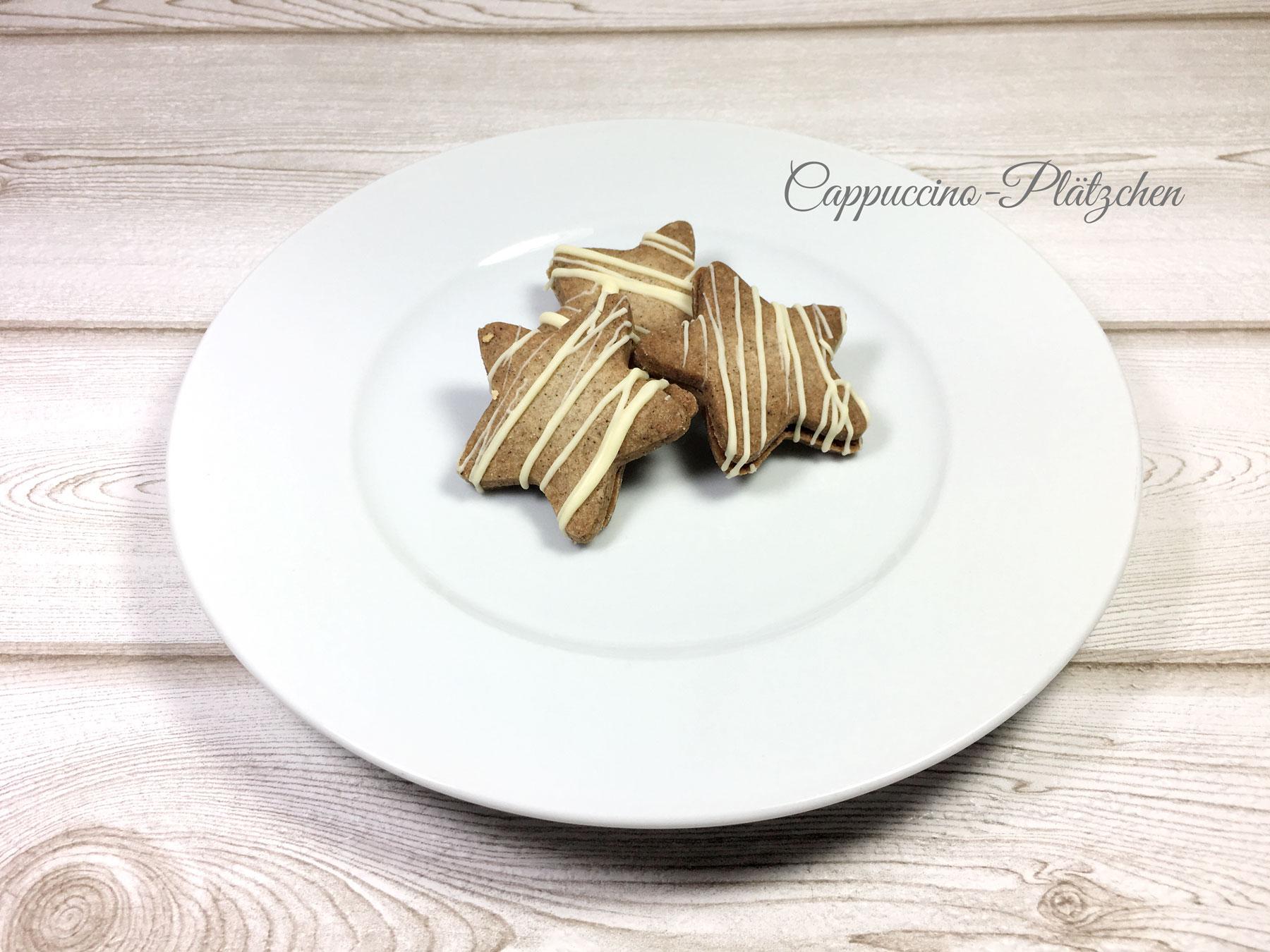 Cappuccino-Plätzchen