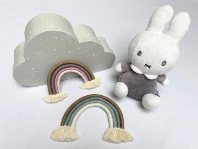 DIY Makramee Regenbogen selber machen